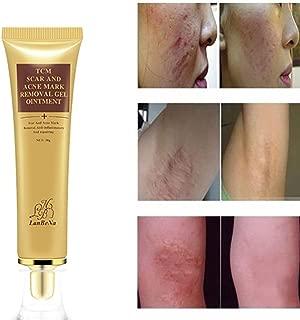 Removing Scar Ointment-lotus.flower Herbal Acne Scar Removal Cream Skin Repair Face Cream Acne Spot Treatment 30ml+5Pcs Cotton Swab (30g)