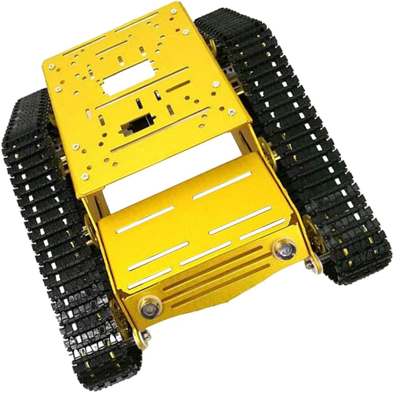 Compra calidad 100% autentica B Baosity 1 Conjunto Y100 Chasis Chasis Chasis de Rastreador Robot Aleación Motor 12v Cultiva Capacidad Creativa de Niños y Regalos a Cumpleaños de Niños - 12V con Motor de Gran Potencia  70% de descuento