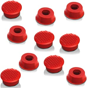 egglobe Super Low Profile Trackpoint Keyboard Mouse Cap Soft Dome Compatible for Lenovo Thinkpad Laptop Pointer (10PCS)
