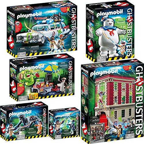 Playmobil 9219–20–21–22–23–24ghostbusterstm 6en kit...