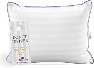 Queen Anne The Original Pillow - Goose Down Luxury Pillow - Hotel Collection - Multiple Sizes and Fills - Made in USA (King Firm)