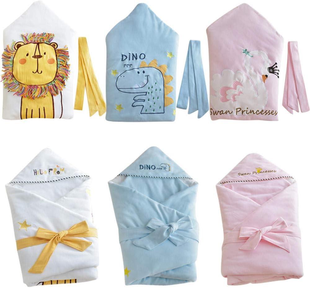 Enveloppe pour bébé en forme de bébé d'hiver pour couvertures de nouveau-né pour sac de couchage pour enfants Décharge dans la poussette Diaper Cocoon Dinosaur