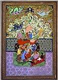 Editions Ricordi 5801N30048 - Puzzle de 1000 Piezas del Cuadro Arte Oriental: El Lector