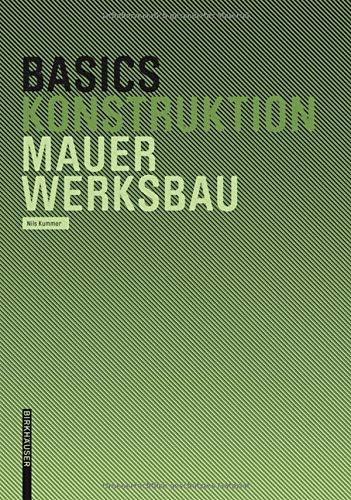 Mauerwerksbau (Basics)