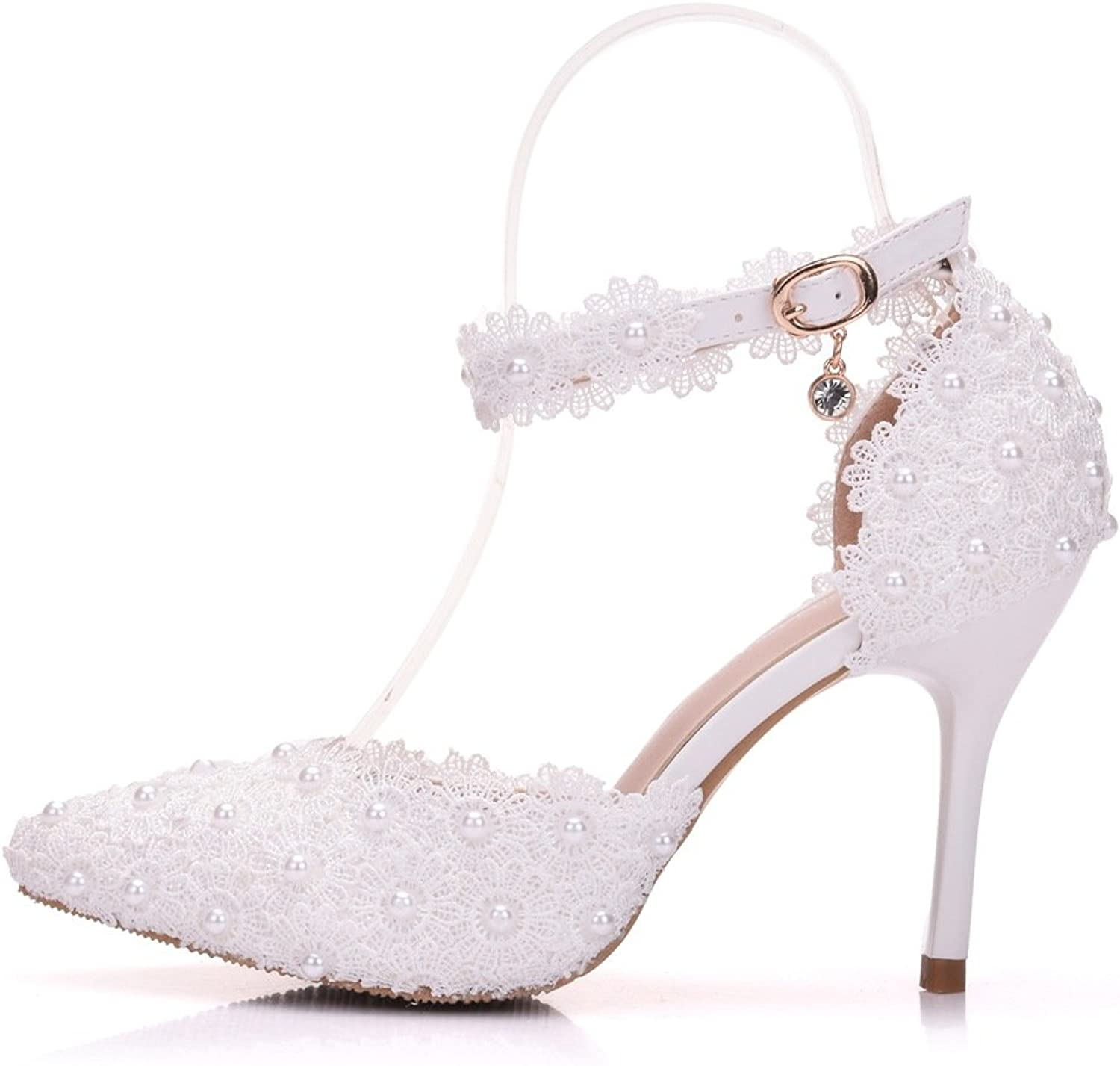 MIKA HOM Dress Stilettos Pointy Bow Heeled Sandals Lady Multi colors Prom Wedding Party Club Pumps shoes Prime