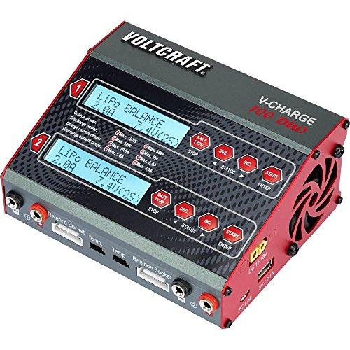 VOLTCRAFT V-Charge 100 Duo Modellbau-Multifunktionsladegerät 12 V, 230 V 10 A