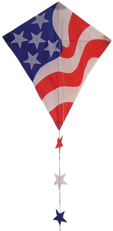 In the Breeze Patriotic Diamond Kite, 30-Inch