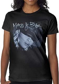 BowersJ Mary J Blige My Life Women's T Shirt Black