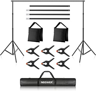 Neewer Photo Studio Backdrop Support System, 10ft/3m Wide...