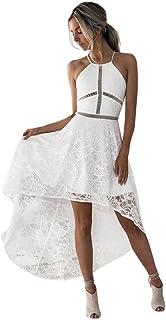 d58fd7ebb86a K-youth® Vestido de Mujer, Vestidos Cuello hálter Vestidos Mujer Fiesta  Vestido de