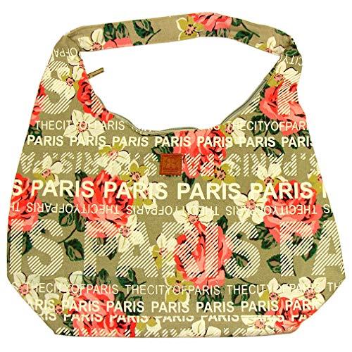 Sac City 'Paris Fleuri' Robin Ruth - Beige