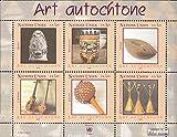 Prophila Collection Naciones Unidas - Ginebra Michel.-No..: Bloque 21 (Completa.edición.) 2006 El Arte indígena (Sellos para los coleccionistas) esculturas