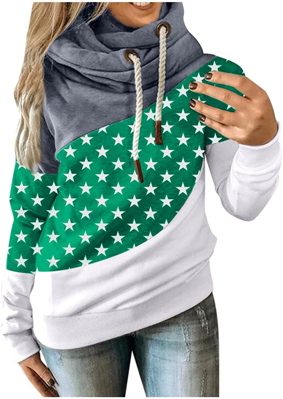 POLLYANNA KEONG Hoodies for Womens Hoodies Pullover 2021 Hoodie Sweatshirt Jumper Drawstring Pullover Tops Blouses Shirts