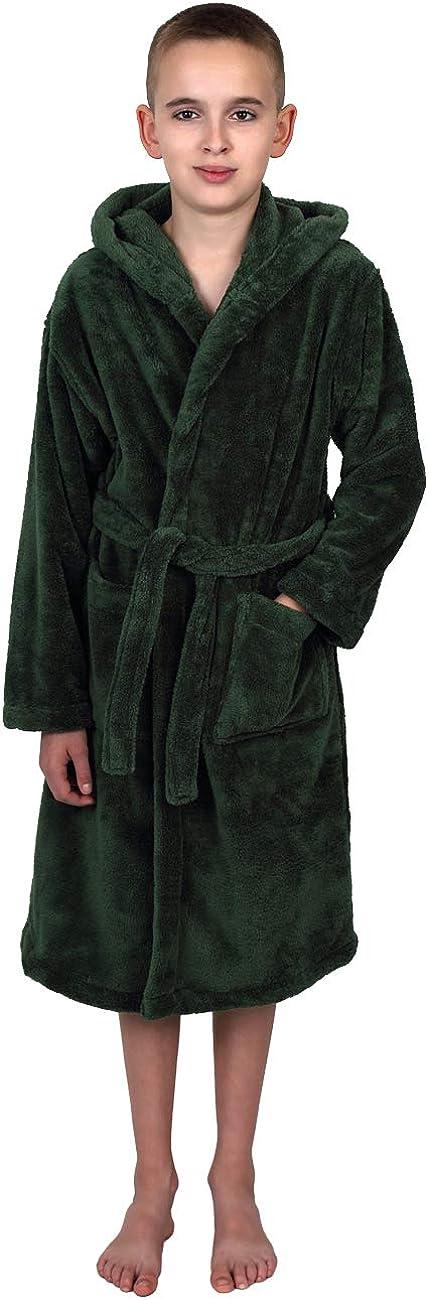 TowelSelections Boys SALENEW very popular Robe Kids Bathrobe Max 42% OFF Fleece Plush Hooded