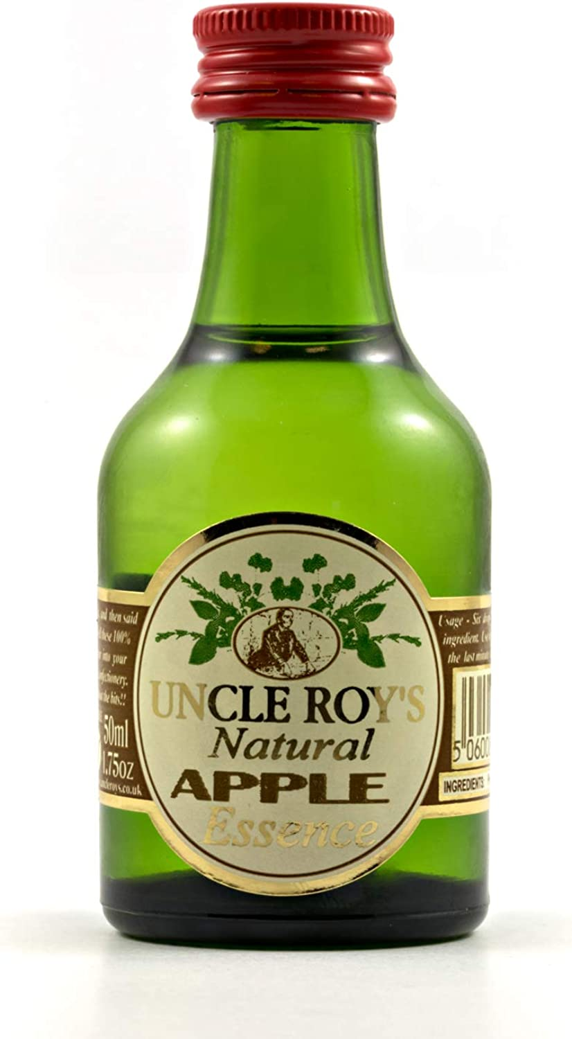 Apple Concentrated Food Essence Catering Size  1litre 36fl.oz