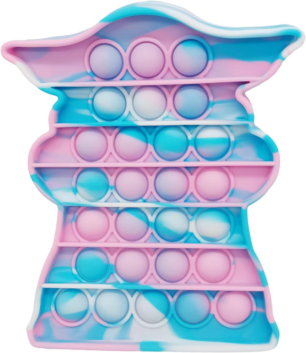 Ma.Lina.Ann Push Pop Bubble Ranking TOP14 Fidget Tie Max 52% OFF Bubbles Toy Dye