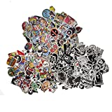 Picavinci Design Sticker Pack,300 pcs Hippies Graffiti Vinyl Decal for car Helmet Wall Luggage Bumper Snowboard hoverboards Phone...