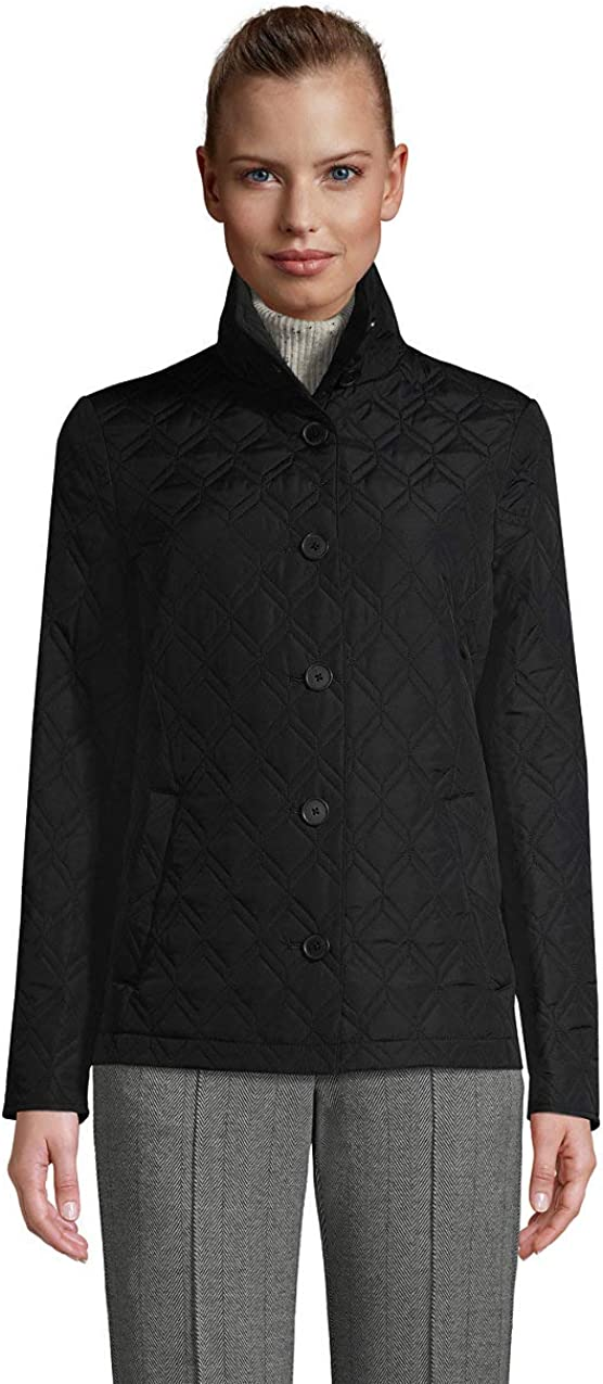 Lands' End Women's Insulated Quilted Barn Jacket