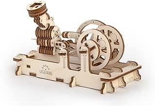 S.T.E.A.M. Line Toys UGears Mechanical Models 3-D Wooden Puzzle - Mechanical Pneumatic Engine