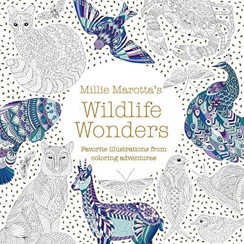Millie Marotta's Wildlife Wonders: Favorite Illustrations from Coloring Adventures (Millie Marotta Adult Coloring Book)