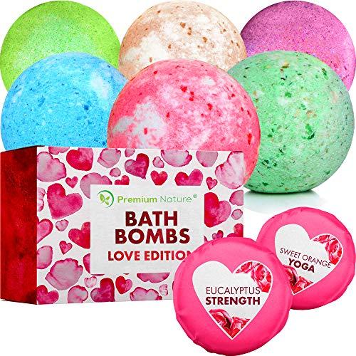 Bombas de baño marca Premium Nature