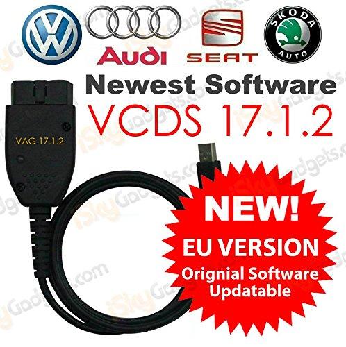 Versione UE aftermarket Vagcom VCDS cavo di diagnostica per VW Audi Seat Skoda...