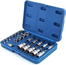 SANON 30-częściowy zestaw bitów zabezpieczających przed manipulacją do męskich bitów sterujących CRV