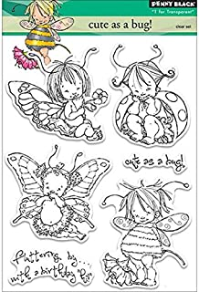 Penny Black 30-220 Cute as a Bug! Decorative Stamp