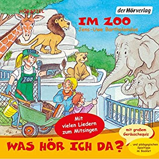 Im Zoo     Was hör ich da?              By:                                                                                                                                 Jens-Uwe Bartholomäus                               Narrated by:                                                                                                                                 Christian Giese,                                                                                        Anna Trageser,                                                                                        Nadine Wrietz                      Length: 1 hr and 1 min     Not rated yet     Overall 0.0