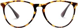Blue Light Blocking Glasses for Women Men Computer Reading Clear Lens Eyeglasses, UV400