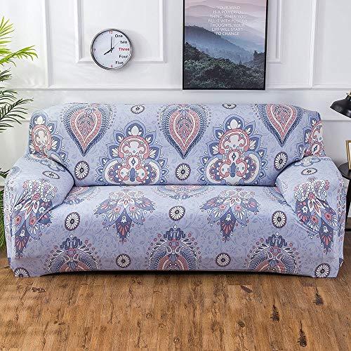 Moderne Stretch Sofabezug L form beige Wohnzimmermöbelbezug,verbesserte Sofa Bezug für 1 2 3 4-Sitzer,rutschfester Möbelschutz mit Kissenbezug für Hunde Haustiere,Couchbezug und Loveseat-Bezugsset