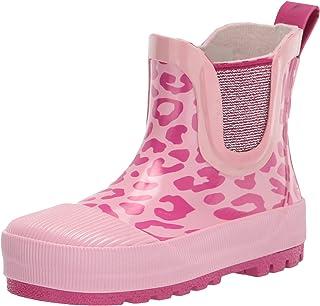 Western Chief Kids Girl's Leopard Chelsea Rain Boots (Toddler/Little Kid)