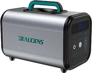 【電池革命】Beaudens ポータブル電源 大容量 120000mAh/384Wh 純正弦波 LiFePO4電池採用 PSE認証取得 10年超長寿命 2000回充放電サイクル AC(300W 最大600W)/Type-C(PD60W)/DC/...