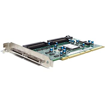 Dell Genuine Adaptec ASC-39320A GC401 FP874 Ultra320 SCSI/LVD Dual PCI-X 320MBps RAID Controller Card Compatible Part Numbers: RT372, F9685, FP874, GC401 Compatible Model Numbers: ASC-39320A