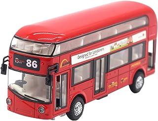 1:43 Car Model Double-decker London Bus Alloy Diecast Vehicle Toys For Kids Boys