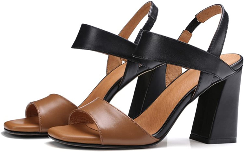ISNOM STYLE AGIT Gladiator Sandals Black
