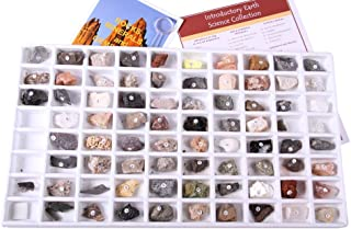 Geosciences Industries 13357 Introductory Earth Science Classroom Rocks and Minerals Collection