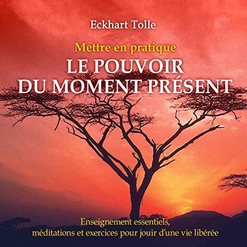 Mettre en pratique Le pouvoir du moment présent - Enseignements essentiels, méditations et exercices pour jouir d'une vie libérée audiobook cover art
