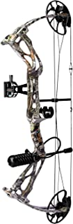 sanlida Archery Dragon X8 Hunting Archery Compound Bow Package/Limbs Made in USA/18-31 Draw Length/0-70Lbs Draw Weight/Up ...