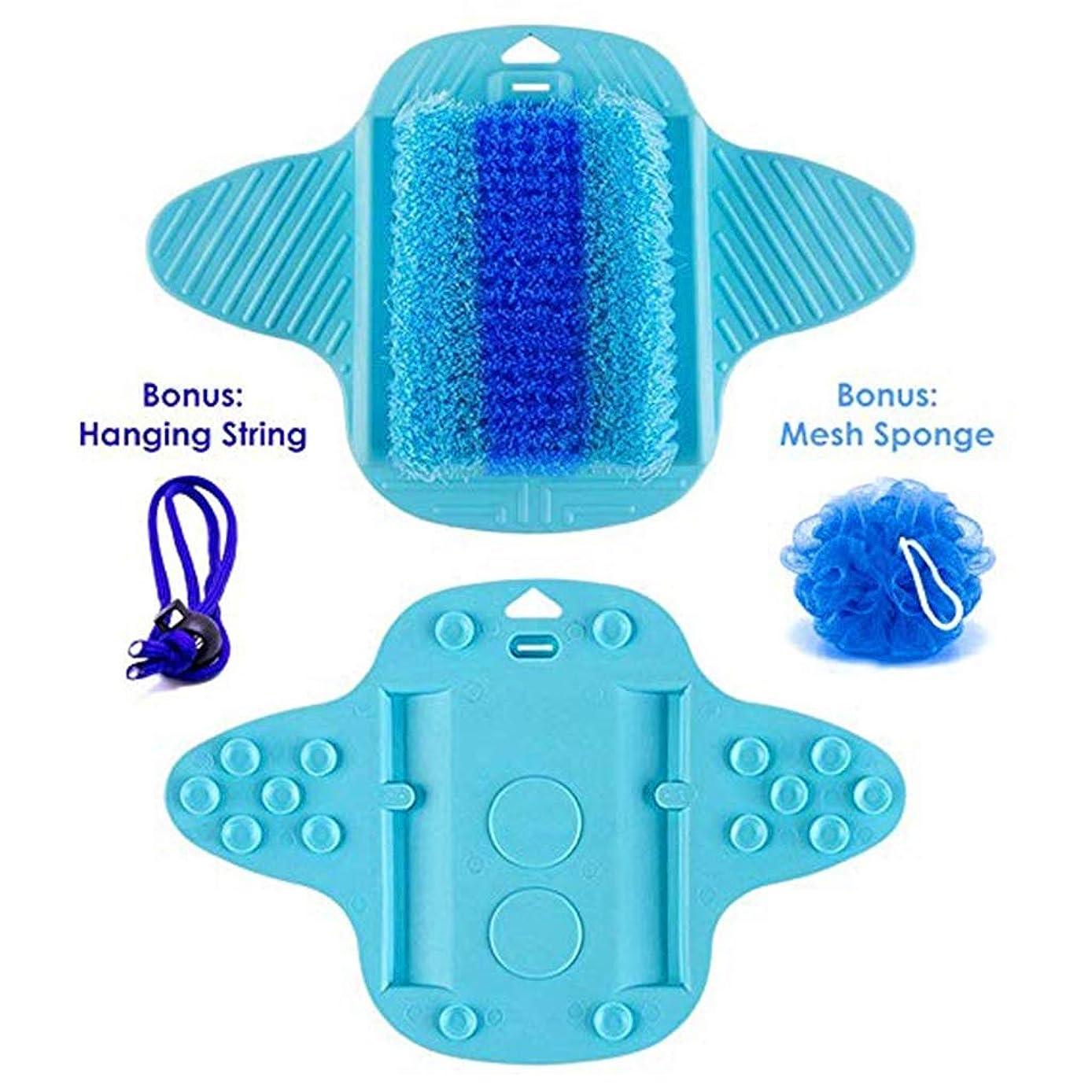 立場安心禁止フットスクラバー、軽石、洗浄、スムージング、角質除去、足のマッサージ