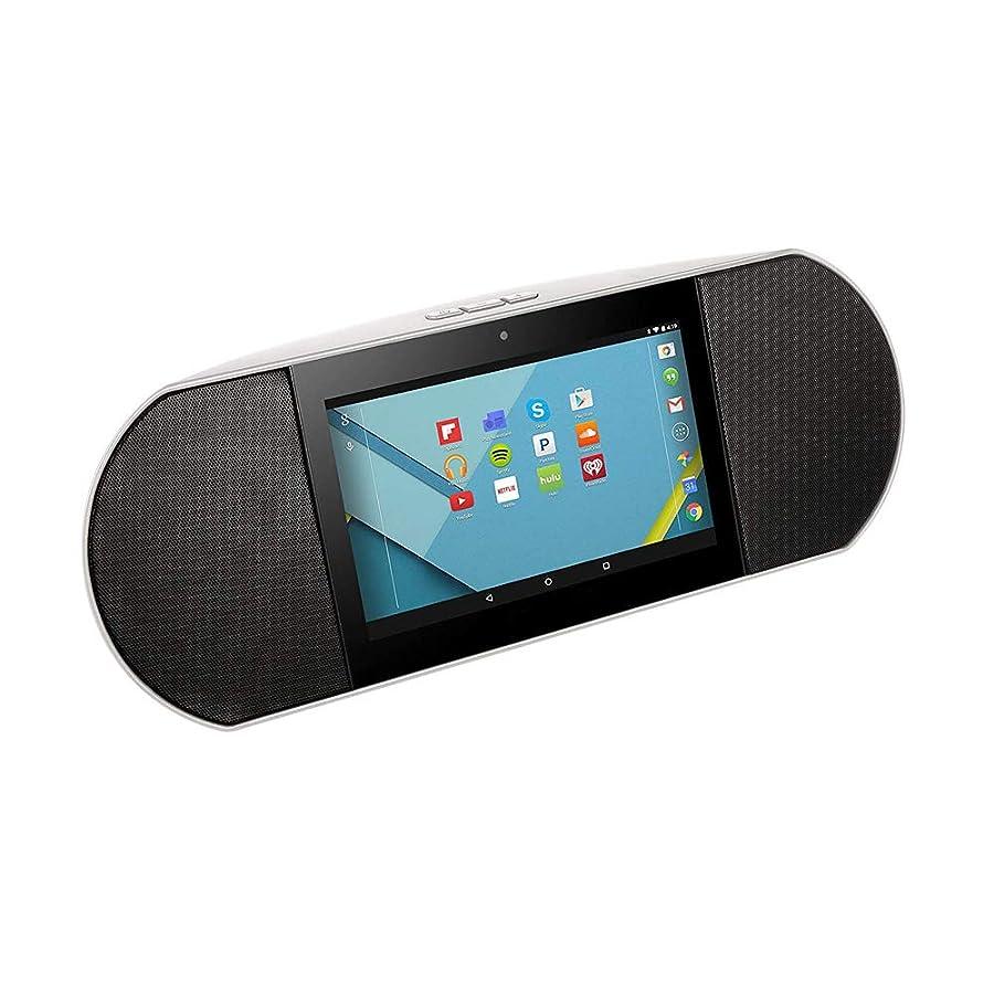 発送製作出席するClazio WiFiインターネットラジオポータブルスピーカーAndroid 6.0 7インチクアッドコアタブレットGoogle Play