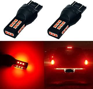 Alla Lighting Xtreme Super Bright T20 7440 7443 LED Bulbs High Power 3035 21-SMD LED 7443 Bulbs 7441 7444 W21W LED Turn Signal Brake Stop Tail Light