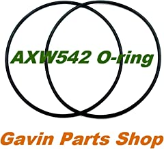 Gavin parts shop (2/Pack) AXW542 O-Ring for Hayward Leaf Canisters Series W530 and W560
