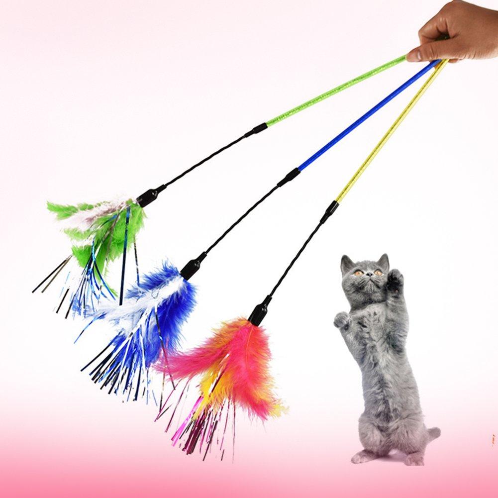 Yunt Plumero de juguete para gato: Amazon.es: Hogar