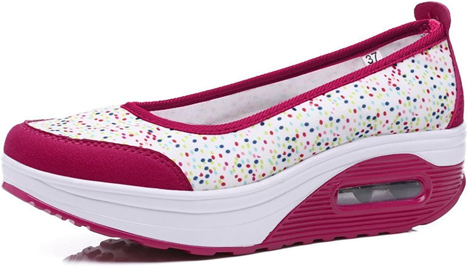 BeautyOriginal Women's Toning Slip-on Casual Walking shoes Athletic Lightweight Sneaker