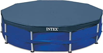BLOSSOMZ Intex 12' Round Frame Set Easy Swimming Pool Debris Cover | 28031E