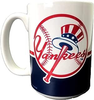 New York Yankees Mug 15oz MLB Baseball Coffee Tea