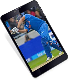 iball Slide Spirit V2 Tablet (7 Inch IPS HD Display/1.4GHZ Quad Core/1GB Ram/8GB Internal Memory/Android 8.1/5MP Rear Cam/2MP Frount Cam/Dual Sim Calling 4G) Black