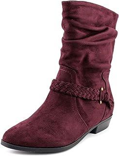 Indigo Rd. Jalena Women's Boots Dark Red Size 5.5 M