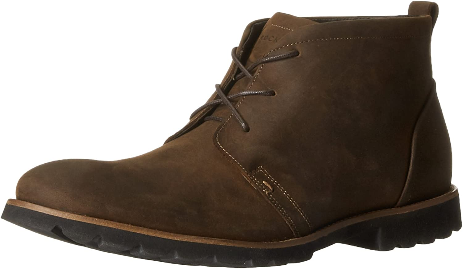 Rockport Men's Charson braun Oiled Leather Stiefel 12 W (EE)